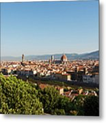Florence, Tuscany, Italy. Overall View Metal Print
