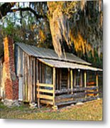 Florida Cracker Cabin Metal Print
