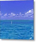 Florida Keys Marathon Intercoastal Waterway 3 Metal Print