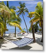 Florida Keys Wellness Metal Print