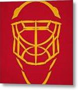 Florida Panthers Goalie Mask Metal Print