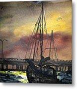 Florida Sailing Metal Print