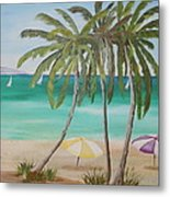 Florida Shade Metal Print