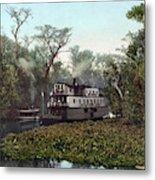 Florida Steamboat, C1902 Metal Print