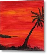 Florida Sunset II Metal Print