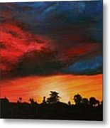 Florida Sunset Metal Print