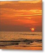 Florida Sunset Metal Print by Sandy Keeton