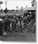 Florida Unemployed, 1940 Metal Print