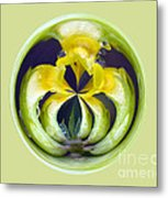 Flower Arms Metal Print