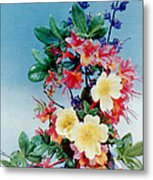 Flower Arrangement 1 Metal Print