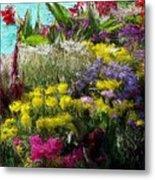 Flower Arrangement Metal Print