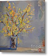 Flower Arrangement Exotic  Metal Print by Patricia Awapara