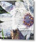 Flower Art Print 5 Metal Print