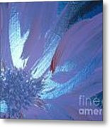Flower Blue II Metal Print by LCS Art