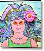 Flower Child Metal Print