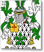 Flower Coat Of Arms Irish Metal Print