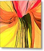 Flower Fantasy Metal Print by Hilda Lechuga