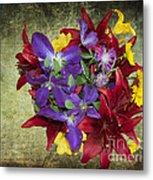 Flower - Garden Joy - Luther Fine Art Metal Print