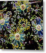 Flower Garden Metal Print by Sharon McLain