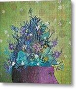 Flower-head1 Metal Print