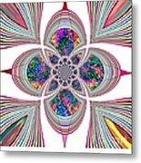 Flower High Metal Print