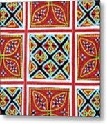 Flower Hmong Embroidery 01 Metal Print