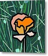 Flower Metal Print by Kenneth North