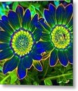 Flower Power 1446 Metal Print