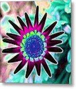 Flower Power 1448 Metal Print