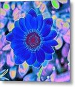 Flower Power 1452 Metal Print