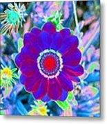 Flower Power 1458 Metal Print
