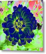 Flower Power 1460 Metal Print