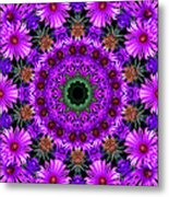 Flower Power Metal Print by Kristie  Bonnewell