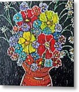 Flower Power Metal Print by Matthew  James