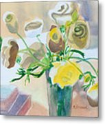 Flower Still Life          Metal Print