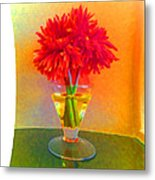 Flower Study #1 Metal Print