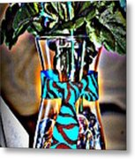 Flower Tie Metal Print by Joyce Brooks