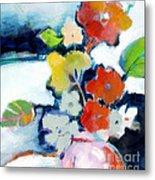 Flower Vase No.1 Metal Print