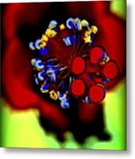 Flower With'in Metal Print