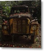 Flowered Metal Print