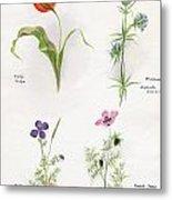 Flowers 1931 Metal Print