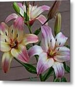Flowers And Buds Metal Print