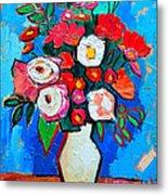 Flowers And Colors Metal Print by Ana Maria Edulescu