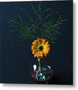 Flowers And Greenery 3 Metal Print