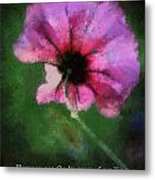 Flowers Are Gods Way 03 Metal Print