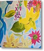 Flowers For Mom Metal Print