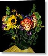 Flowers From The Heart Metal Print
