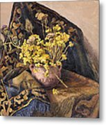 Flowers Immorteles Metal Print