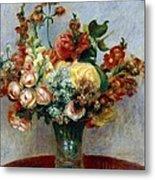 Flowers In A Vase Metal Print