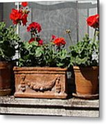 Flowers Of New York Metal Print